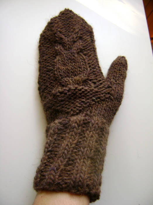 Left Handed Knitting Patterns : owl mittens, raglan sweaters and adventures in left-handed knitting knitbya...