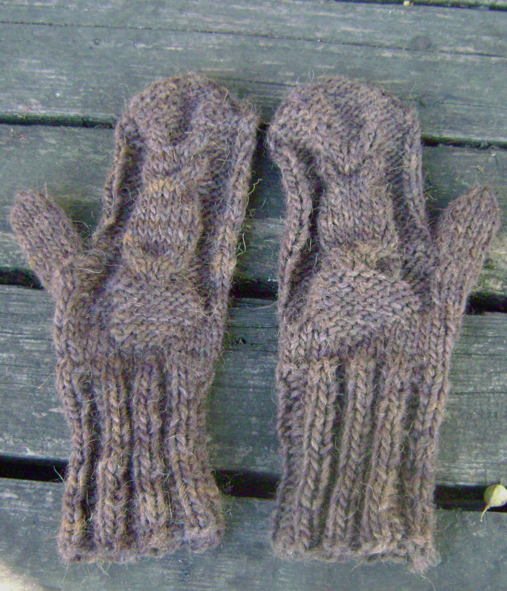 owl mittens, raglan sweaters and adventures in left-handed knitting ...