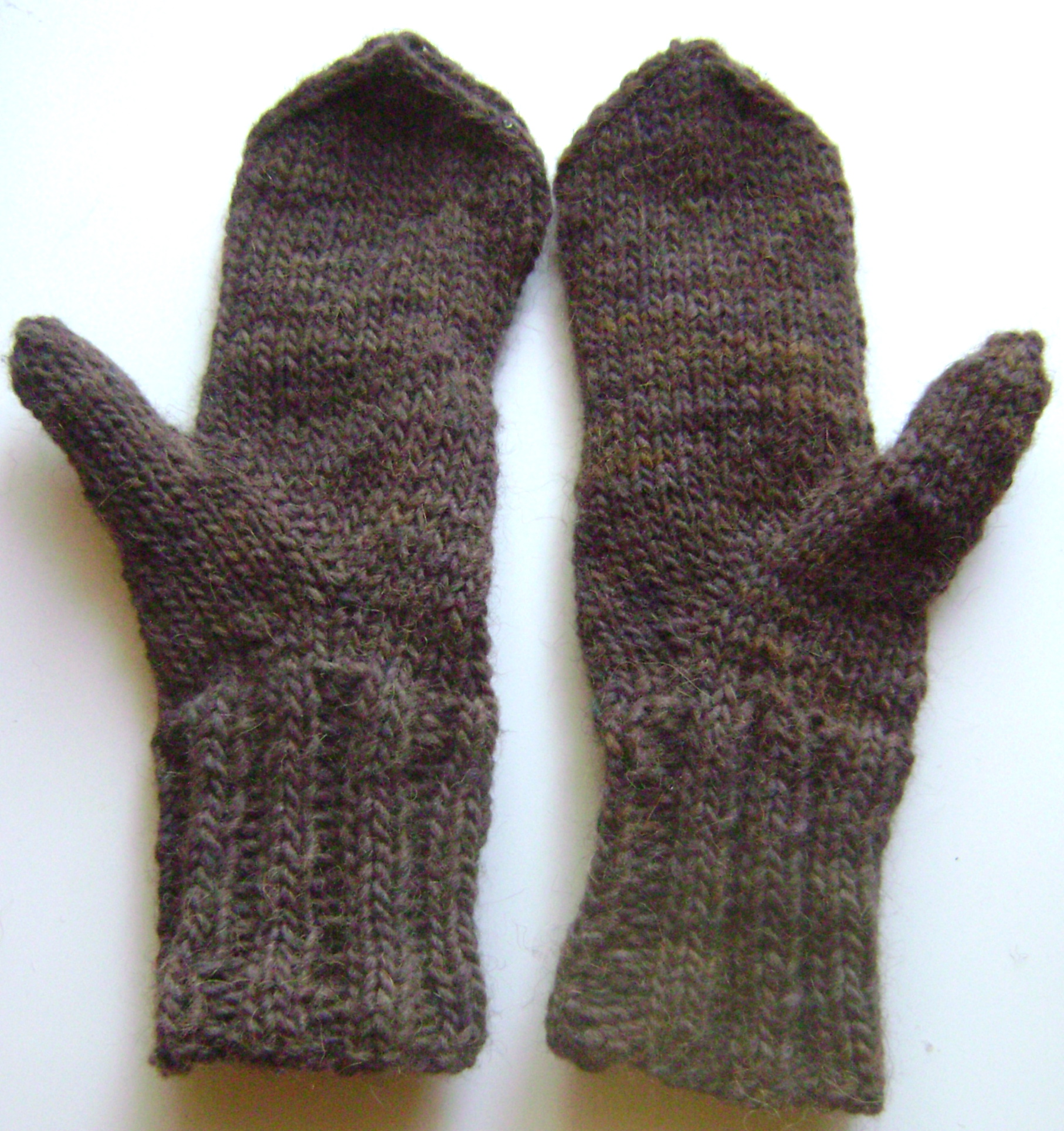 owl mittens, raglan sweaters and adventures in left-handed knitting knitbya...